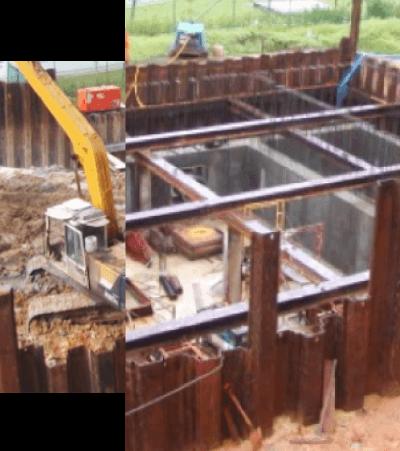Power Plant Construction & Excavation   Oriental Sheet Piling